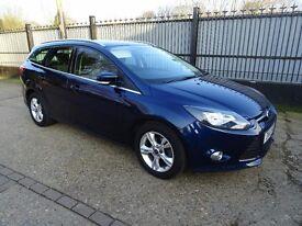 Ford Focus 1.6 Zetec Estate 2012, Petrol, low mileage
