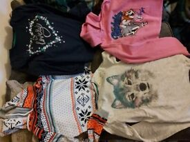 Bundle of clothes for a girl 12 -13 years old