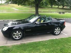 Mercedes-Benz SLK convertible £1,800/90k miles only 2 female owners