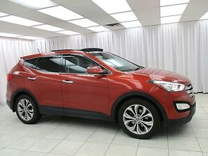 2013 Hyundai Santa Fe 2.0L TURBO LIMITED AWD SUV w/ LEATHER AND