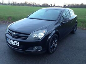 Vauxhall ASTRA SXI TURBO IN BLACK , PETROL, IN IMPECCABLE CONDITION, FSH, NEW MOT NOT FOCUS,GOLF