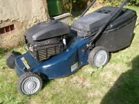 MacAllister 484 Petrol lawnmower good condition, serviced, blade sharpened, good condition