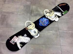 Snowboard Planche a neige BURTON 154cm + Fixations Burton #F020732