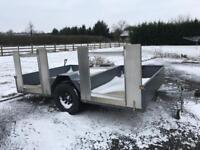 Twin quad bike trailer