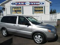 2008 Pontiac Montana SV6 FWD w/1SA 7 PASS QUAD SEATING!! PARTIAL