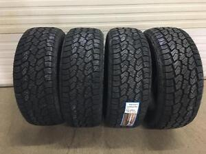 New 275/55R20 all terrain, fits GM trucks and others.. BLOW OUT!