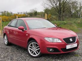 2009 SEAT EXEO 2.0 TDI CR SE 2 OWNERS SAT NAV SUNROOF 84342 MILES FULL SERVICE HISTORY IMMACULATE