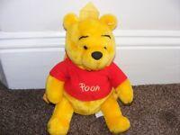 Disney Plush Pooh Bear Toddlers Rucksack.