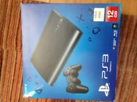 PS3 Playstation slim with controller & 32 games (model CECH-4203A)