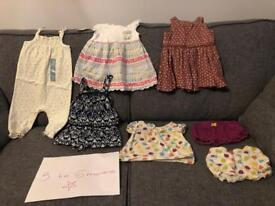 Baby girls clothes 3-6 months bundle 1
