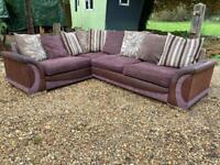 SCS Corner sofa + Free Delivery