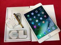 Apple iPad Mini 4 32GB, WiFi + Cellular, White, Unlocked, +WARRANTY, NO OFFERS