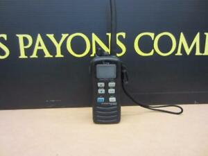 # f020913 Icom IC-M72 Marine Portable Radio, VHF, 6 / 1 Watts, Lithium Ion Battery