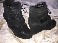 Women's black shoes size 6 - Carvela, Kurt Geiger