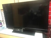"""2x 32"""" Sony Bravia LCD TVs With remote good condition the kids got new smart TVs"""
