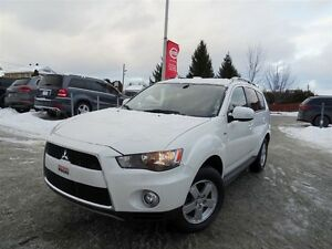 2012 Mitsubishi Outlander LS AWD + MAGS + 7 PASSAGERS + GARANTIE