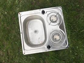 Boat sink and hob