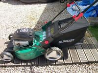 petrol self propelled lawnmore