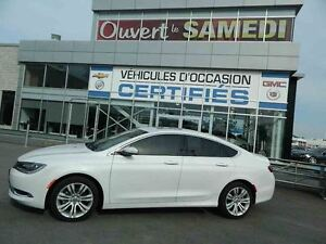 2015 Chrysler 200 Limited + TOIT OUVRANT + SIEGES CHAUFFANT