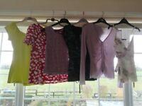 Ladies' tops size 10 bundle from Next, Wallis, Principles, Jane Norman