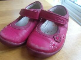 Clarks 4.5G Girls Shoes