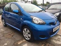 Toyota Aygo 1.0 VVT-i Blue Multimode 5dr£3,485 p/x welcome FREE 12 MONTH WARRANTY,NEW MOT