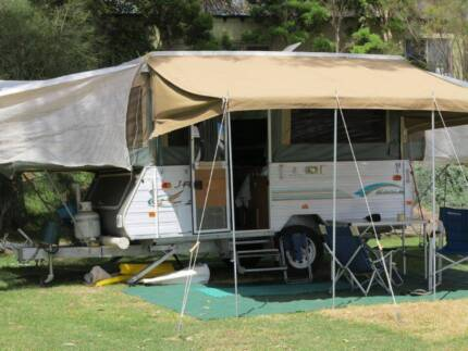 2004 Jayco Eagle campervan