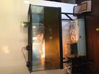 90gallon fish tank with stand and lid