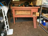 Large Rabbit Hutch or Guinea Pig Hutch for sale