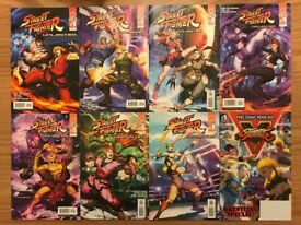 CAPCOM STREET FIGHTER UNLIMITED COMICS ISSUES 1-7 FIRST PRINTS