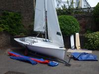 Lark Sailing Dinghy - For Sale - Parker Mk 2