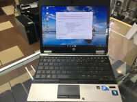 HP ELITEBOOK 2540p Laptop/ CORE i7 quad core PROCESSOR/ 12.1 INCH