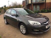 Vauxhall Astra 1.6 i VVT 16v Excite 5dr 2012 61 Reg 12 Months MOT Low Mileage Good Condition