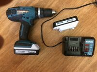 Makita 18v Li-ion batteries