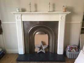 Fire surround, insert and front hearth for sale (can be separated)