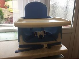 Lindam baby booster feeding chair suitable for 12 months to 3 years