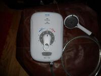 Triton Safeguard + 8.5kW Electric Shower