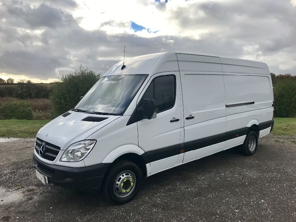 mercedes sprinter 513 cdi lwb diesel 2011 11 reg very rare 5 5 tonne van with rear twin wheels. Black Bedroom Furniture Sets. Home Design Ideas