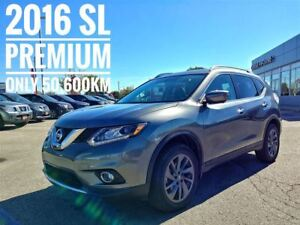2016 Nissan Rogue SL Premium Navi Leather  FREE Delivery