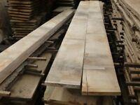 Oak planks/boards/beams/flooring