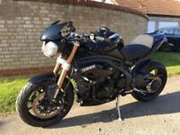 Triumph speed triple 2012 1050cc £1000's extras