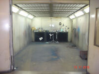 Spraybake Spraybooth For Sale - Direct Fired Gas - Rear Wall Extraction