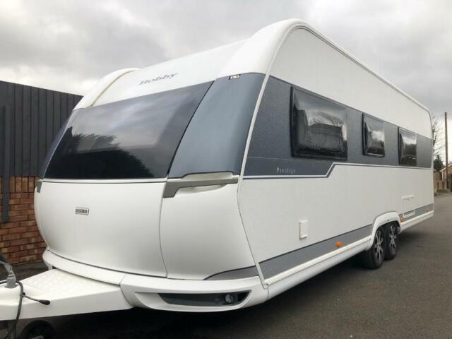 Hobby Caravan 650 Wfu Prestige 2014 15 Model Like Tabbert And Fendt In Wraysbury Surrey Gumtree