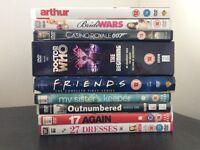 6 Movies and 3 Box sets