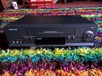 FINLUX quality VHS Video Recorder / Player 6 Head Hi-Fi Nicam