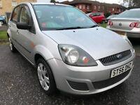 ★ £30 Tax! ★ OCT 2006 Ford Fiesta Style Diesel Tdci 1.4 5dr, FULL SERV HIST, VERY LONG MOT, eg astra