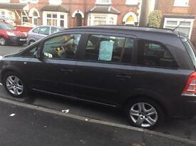 7 seater Vauxhall zafira 1.6 petrol exclusive
