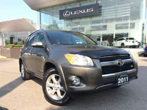 2011 Toyota RAV4 Ltd 4WD Back Up Cam Navi