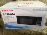 Sharp R-270WM compact digital microwave oven l@@k