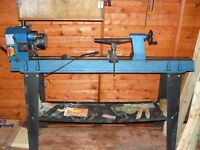 Used 10 Speed Sealey Wood Turning Lathe.